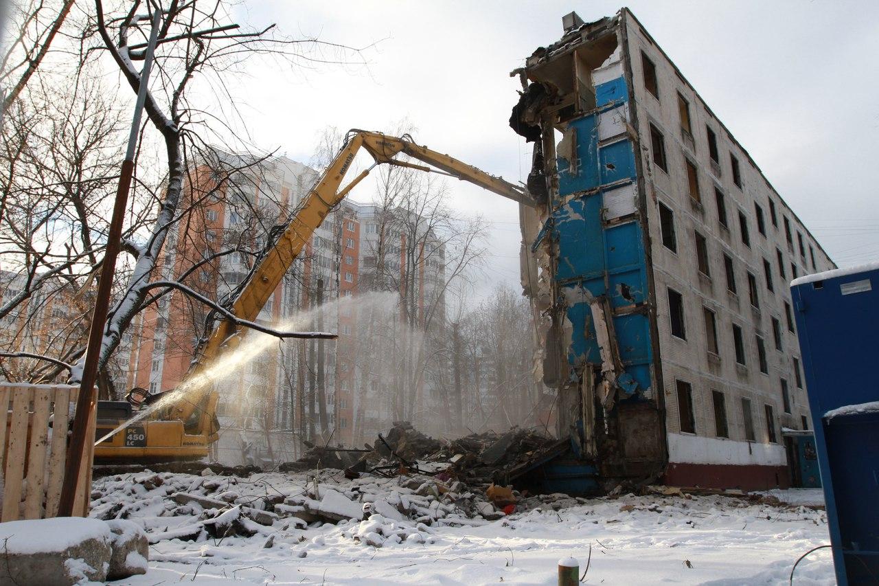 Собянин: Москва сохранит темпы реализации программы расселения пятиэтажек, Москва, Сергей Собянин