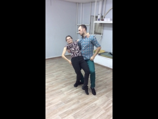 Бачата. Урок 08.12.15 / Bachata / S'танция
