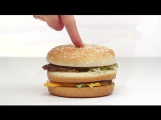 Забавная реклама Макдональдс в стиле Aplle