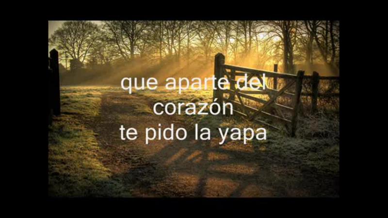 JOrge Rojas - La yapa (karaoke)