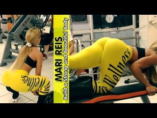 MARI REIS - IFBB Wellness Athlete: Build a Strong and Beautiful Legs @ Brazil
