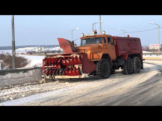 Снегоуборочная машина ЗИЛ 131 со шнеком и механизмом отбрасывания снега в Калуге