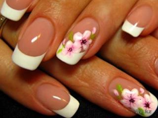 Фото нарощенных ногтей / красивые ногти