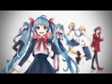 halyosy ft. Vocaloid - Connecting rus sub