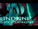 Undertale - Undyne - Speedpaint