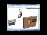 SketchUp для ПГС. Пружина. Анимация. Модели GOOGL. Урок 4