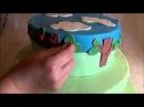 Чудесный детский торт из мастики со Свинкой Пеппой лепка из мастики мастер класс