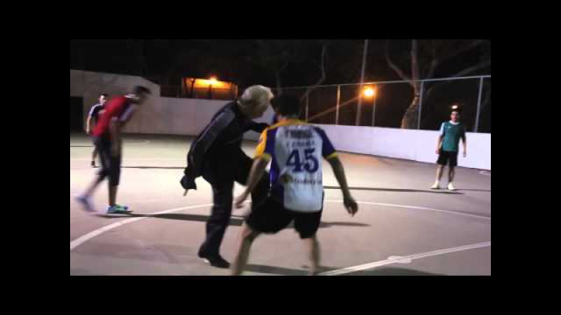 INCREDIBLE PRANK | Watch Lionel Messi's Grandfather On The Court
