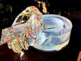 Making Twisted Resin Bracelet with Real Dry Flowers! Clear Silicone Mold by ALAMOULD