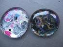 Marbled Nail Polish Glass Stones Craft