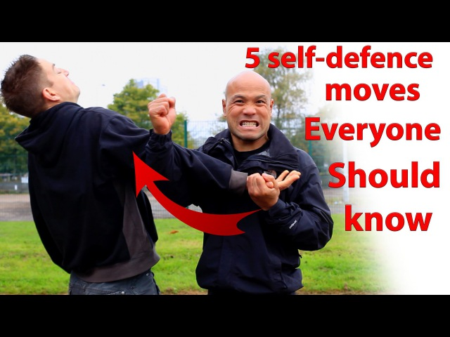 5 Self Defence moves everyone should know