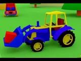 Развивающие Мультики Для Малышей: Грузовик Тёма и Трактор (Мультфильм Для Детей Про Машинки)
