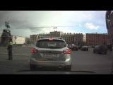 Джип на Исаакиевской площади 04.04.2014