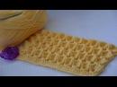 Узор Зефирка крючком • Marshmallow crochet stitch • Схема узора • Мастер класс по вязанию