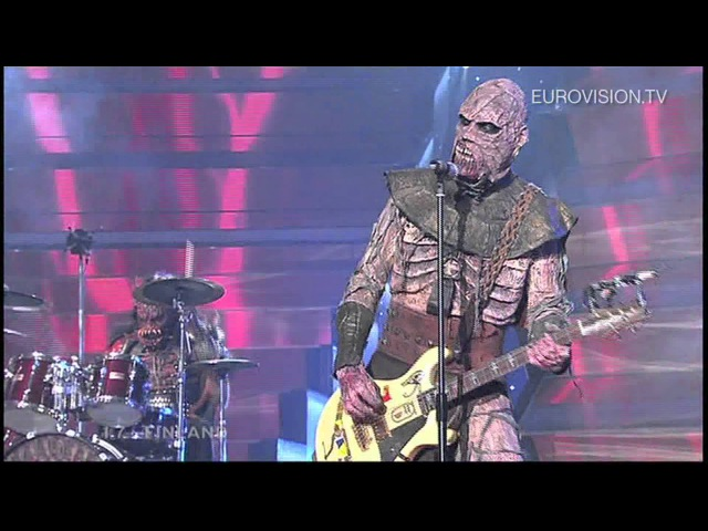 Lordi Hard Rock Hallelujah Finland 2006 Eurovision Song Contest Winner