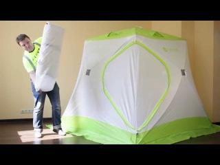 Утепленный внутренний тент для палатки куб