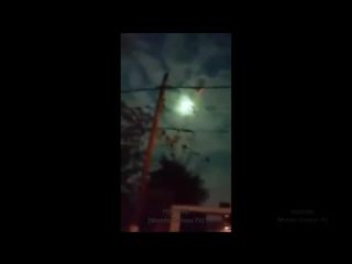 Meteorito Luz Verde en el Cielo de Buenos Aires - Extraño Meteorito Verde en Argentina (VIDEO)