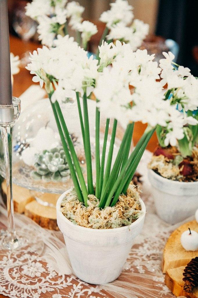 гиацинты в декоре свадьбы
