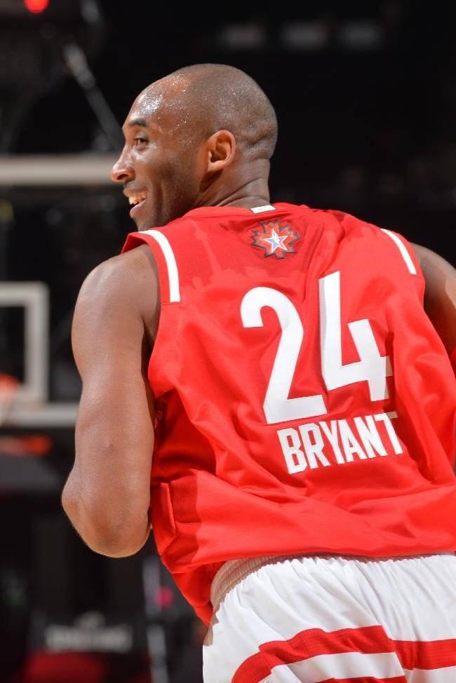 Коби Брайант на Матче Всех Звезд НБА 2016