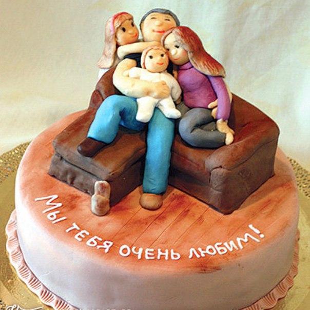 Торт для мужа на день рождения фото своими руками