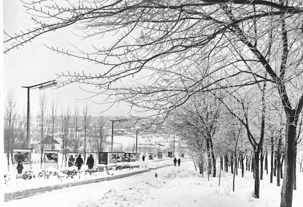 Парк «Дружба». 1977 год