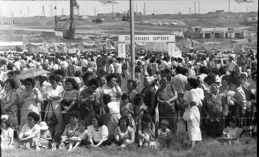 День города 1990 год. Колонский пруд.