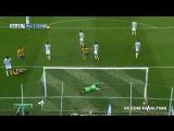Малага 1-2 Барселона | Гол Месси