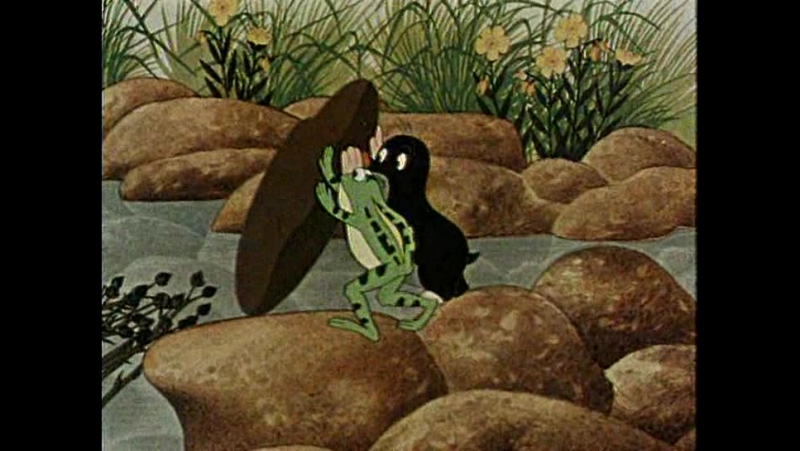 1 Крот и штаны. Мультфильм (1957)