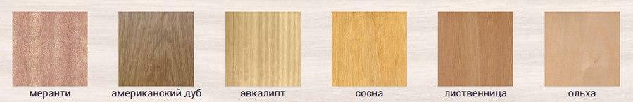 породы дерева для изготовления окон