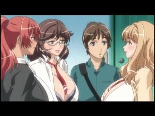 Okusama wa moto yariman_хентай,аниме,без цензуры,жесткое групповое порно изнасиловниние, групповуха, три члена на одну шлюху