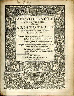 aristotles rhetoric in allstate ads essay Essay writing guide essay: aristotle q1a) explain aristotle's theory of the four causes (33 marks) q1b) aristotle's theory of the four causes is convincing.