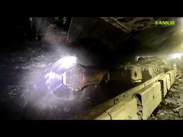 Kompleks ścianowy FAMUR FL 21/44 KWK Knurów-Szczygłowice 2014 HD 1080P