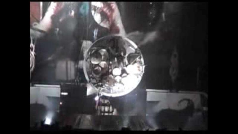 Slipknot Live - 08 - Iowa (short) Joey Drum Solo | Baltimore - MD - USA [16.10.2001] Rare