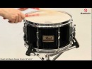 Pearl All Maple Snare Drum 12x6 5 in Black