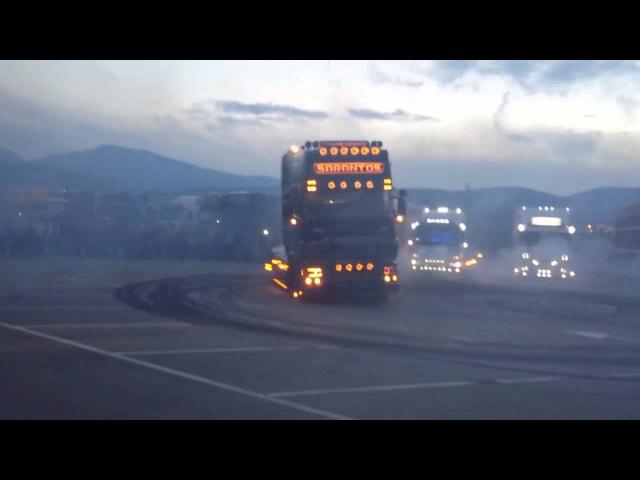 Scania R730 Sarantos Power - Truck Drifting