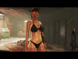 Fallout 4 Mod Review 24 - ROCK HARD ABS AND TAN LINES with Macho Claw - Boobpocalypse