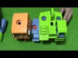 Развивающий мультик для детей. Грузовичок Долли и Экскаватор на фабрике. Educational cartoon for chi