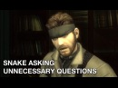 Snake Asking Unnecessary Questions