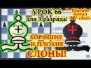 Хорошие и плохие слоны Урок 66 для 3 разряда Шахматы