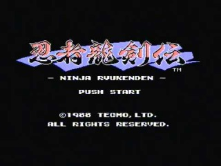 Ninja Ryukenden (Famicom) - PAL Famiclone Test