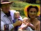 Джейн Сеймур с мужем и детьми . Начало 1996 года.