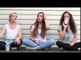 Три очень милых девушки  очень круто поют  Бейонсе