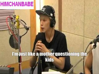 Himchan acts as a mother in BAP and praise Youngjae (ENG SUB) кфк