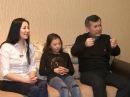 На огонек. Принцесса льда Элизабет Турсынбаева и ее семья!