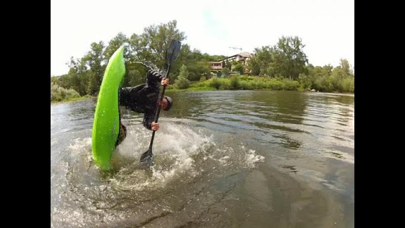 Kayak freestyle été 2014