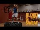 Упражнения для тренировки ног на покрышке Техника бокса Игорь Смольянов Boxing Using a tire