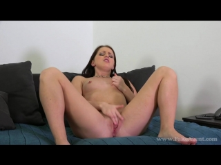 FakeAgent.com: Kittina - Sexy brunette student fucked hard in casting (2015) HD