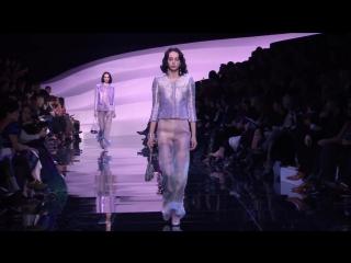 Giorgio Armani (Джорджио Армани) Неделя Высокой моды в Париже показ полной коллекции женской моды Весна - Лето 2016 от Кутюр