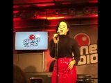 Demi Lovato performing Confident at Planet Radio - November 3rd #2