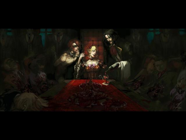 [Akiko Shikata] Золотой смех ~Прекрасный Банкет~/ 金色の嘲笑 ~麗しの晩餐~ [rus sub]